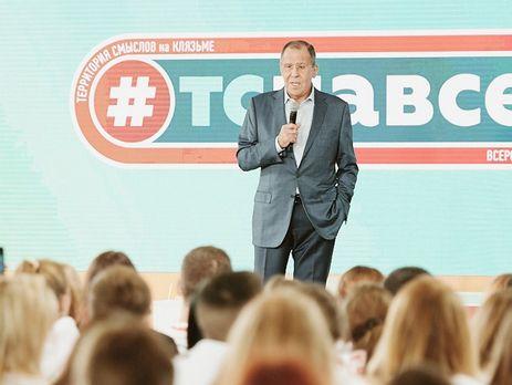 Сергей Лавров раскритиковал предложенный Западом Украине выбор междуРФ иЕвропой