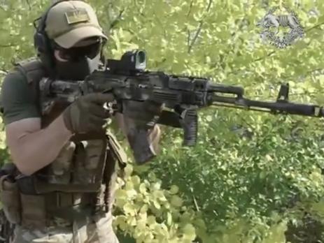 Кадр из ролика к годовщине создания Сил специальных операций Украины