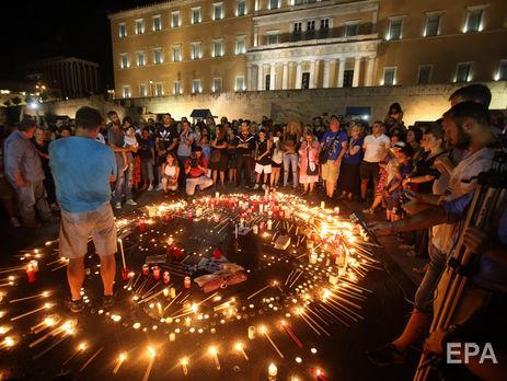 В результате пожаров в Греции погиб минимум 91 человек