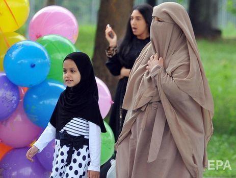 ВДании впервый раз оштрафовали мусульманку заникаб