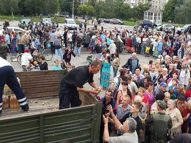 """Мэр Луганска объявил о гуманитарной катастрофе в городе: """"Луганск в полной блокаде и изоляции"""" - Цензор.НЕТ 4674"""
