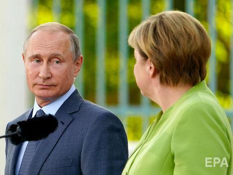 Донбасс, газ и не только: все подробности переговоров Меркель и Путина