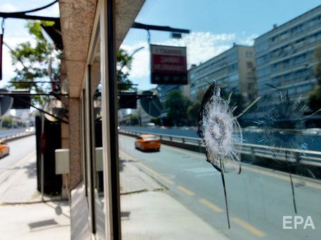 ВАнкаре неизвестные обстреляли посольство США