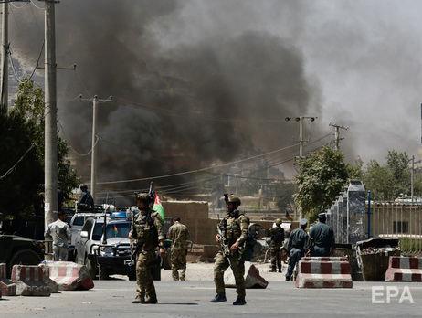 Террористы нанесли по Кабулу ракетный удар