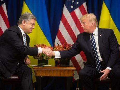 Трамп побажав Україні мирного, щасливого й успішного року