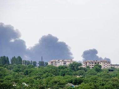 Под Торезом террористы сбили пассажирский самолет