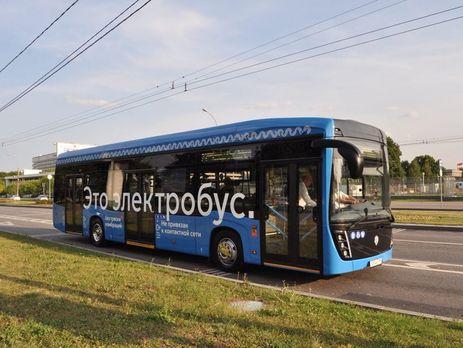 """Електробус """"КамАЗ"""" заглох на маршруті з пасажирами"""