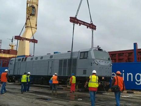 Локомотив General Electric доправили в Україну 10 вересня