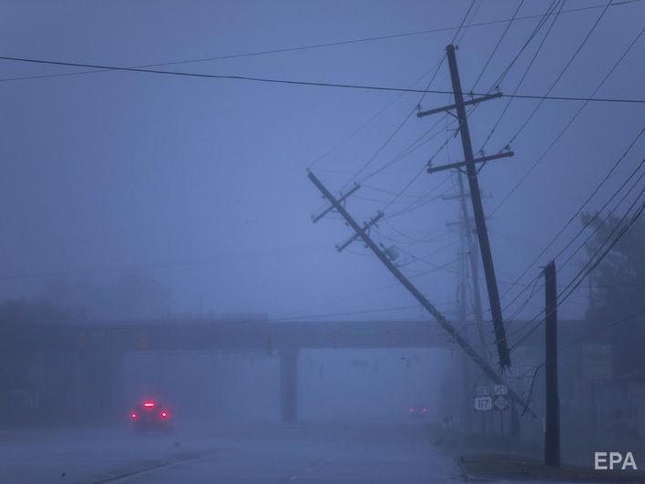 Ураган 'Флоренс' обрушился на восточное побережье США, есть жертвы