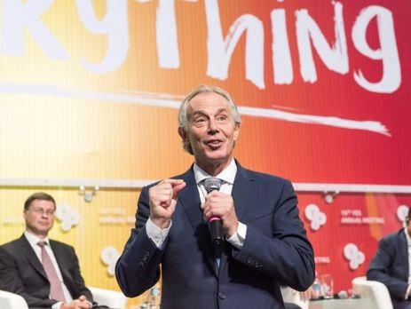 Блэр Главная цель существования Европы сегодня быть сильными