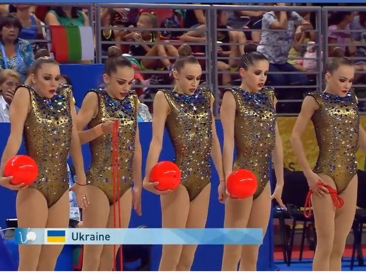 Українські спортсменки посіли третє місце на чемпіонаті світу з художньої гімнастики