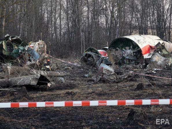 Польща у ПАРЄ буде вимагати від РФ повернути уламки літака Качинського