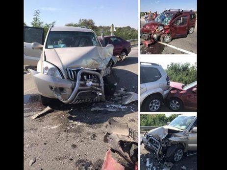 Команда Ивана Поповича попала в ДТП по дороге в Полтавскую область