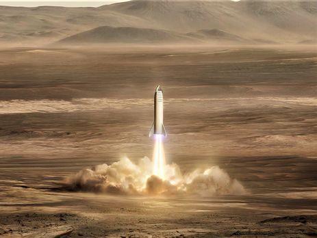 Илон Маск обнародовал изображение марсианской базы Mars Base Alpha