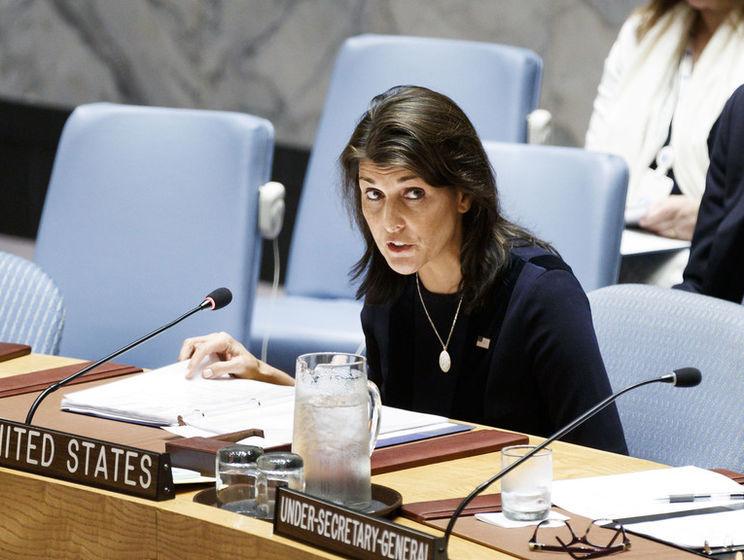 Хейли: Иран может обвинять США в чем угодно. Но ему стоит посмотреть в зеркало