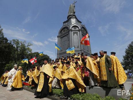 Православная церковь в Украине ждет от Вселенского патриархата томоса об автокефалии