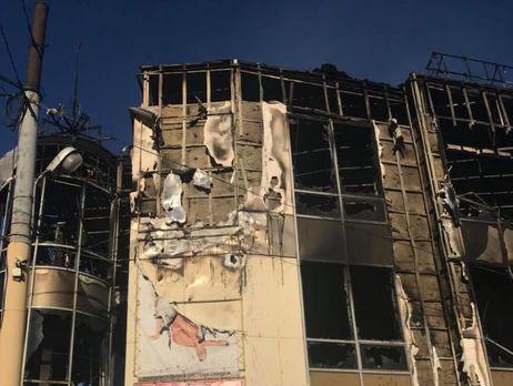 В «ЛНР» сгорел торговый центр