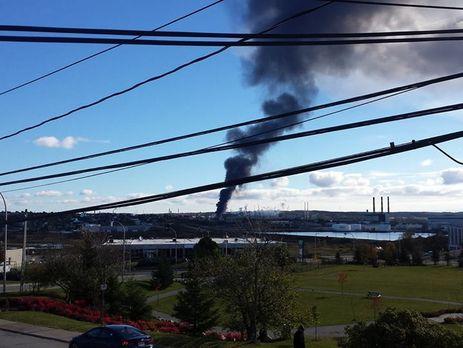 ВКанаде нанефтеперерабатывающем заводе произошел мощнейший взрыв