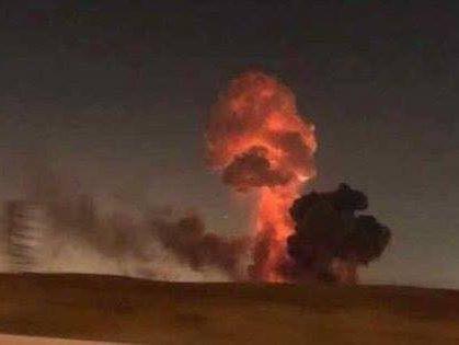 ВЧерниговской области взрыв наарсенале: эвакуируют население