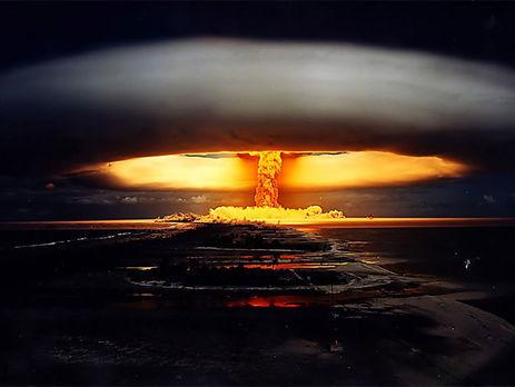 НаФранцию подали иск вГаагу заядерные взрывы вТихом океане