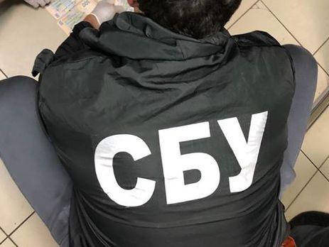 Співробітники СБУ проводять обшуки на підставі рішення Шевченківського суду Києва