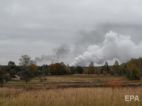 На полигоне возле Ични возросла интенсивность взрывов снарядов - Миноб