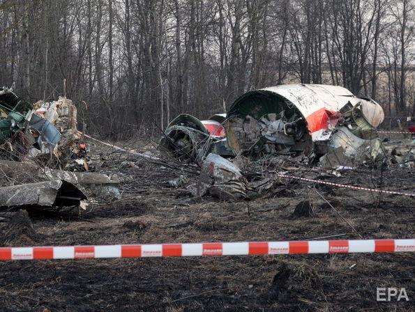 ПАСЕ призвала РФ вернуть Польше обломки самолета Качиньского
