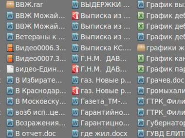 Файлы, которые хакеры нашли на сервере ЛДПР