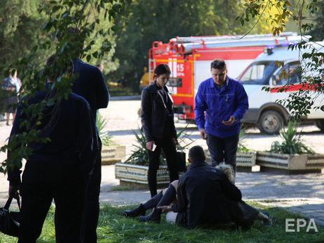 10 пострадавших в результате взрыва и стрельбы в колледже находятся в тяжелом состоянии