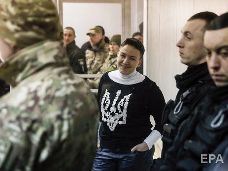 245a641d7d400f Прокурори вимагають продовжити термін перебування Савченко в СІЗО на два  місяці