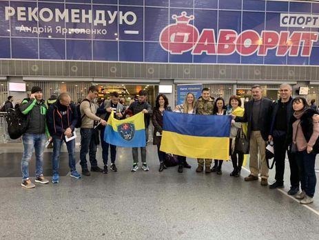 Українська збірна вилетіла до США сьогодні
