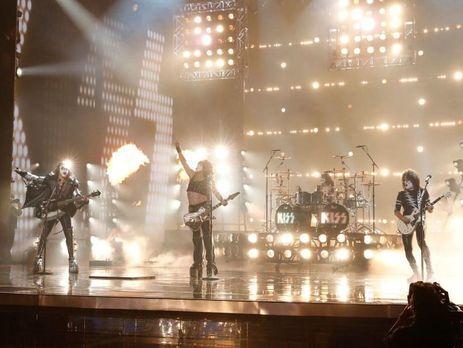 ВКиеве выступит известная рок-группа Kiss