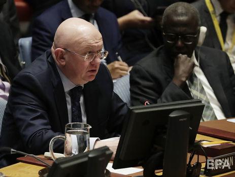 РФ  вмеждународной Организации Объединенных Наций (ООН) : Выборы наДонбассе наполнят  «вакуум власти» после убийства Захарченко