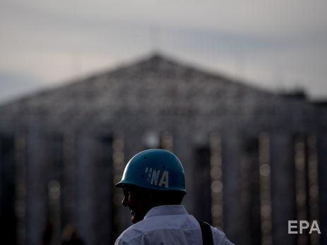На першому етапі миротворців ООН хочуть увести вздовж лінії розмежування на Донбасі