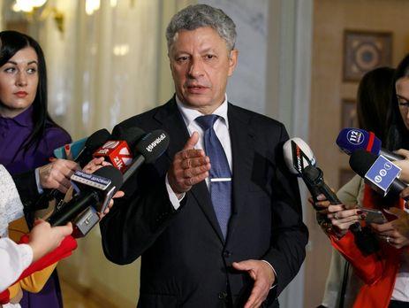 """Джерело телеканала """"24"""" стверджує, що бажання групи депутатів висунути Бойка (на фото) кандидатом у президенти разом із партією Медведчука може привести до розколу Опозиційного блоку"""