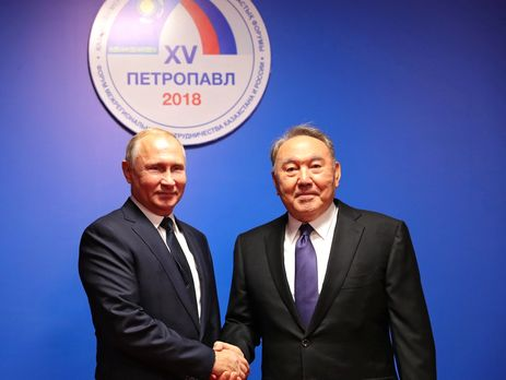 Путін і Назарбаєв відвідали виставку 9 листопада