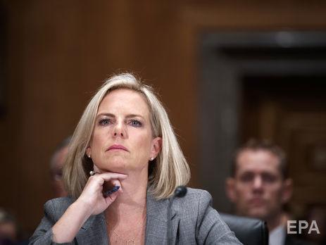 Трамп намерен уволить Нильсен, сообщили источники Washington Post