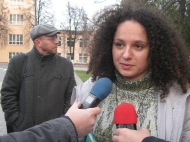 В Белоруссии активистка арестована за проукраинские листовки