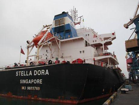 Впорт Южный прибыл уголь для Криворожской ТЭЦ