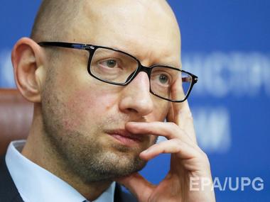 Яценюк опять угрожает отставкой