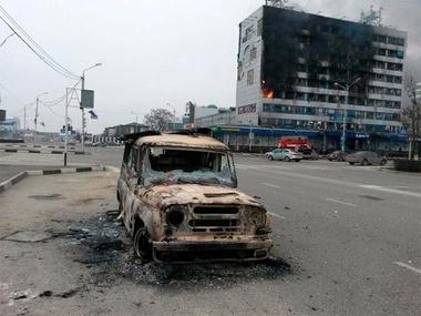 В Грозном погибли два мирных человека