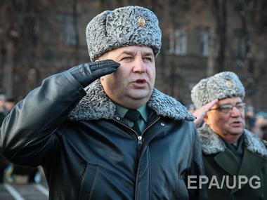 Контрактная армия Украине не по карману - Полторак