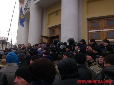 По факту протестов в Виннице возбуждено уголовное дело