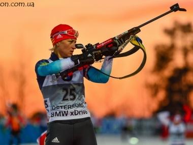 Валентина Семеренко завоевала серебро в Остерсунде