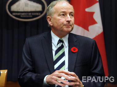 Сегодня Украину посетит министр нацбезопасности Канады