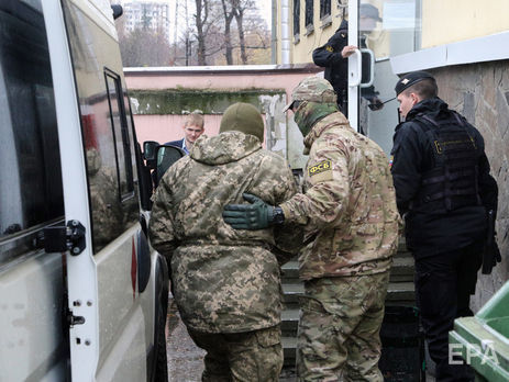 Українських моряків захопили 25 листопада