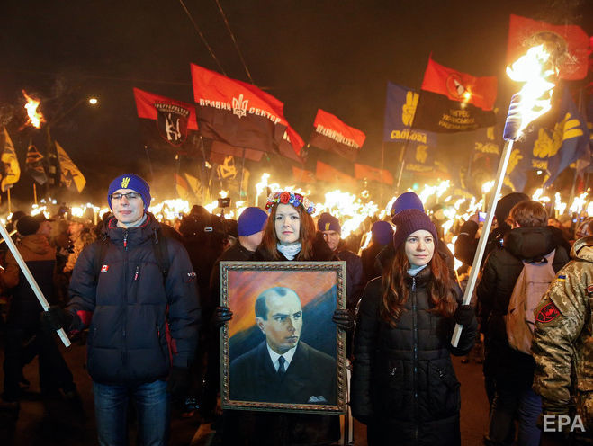 В Верховной Раде предложили присвоить Бандере звание Героя Украины