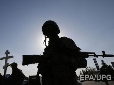 Украинские разведчики попали под обстрел сепаратистов в буферной зоне