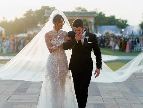 Свадебное одеяние Приянки Чопры: что выбрала артистка