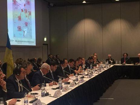 МИД Украины сообщает, что партнеры выразили полную поддержку Киеву и призвали РФ к немедленному освобождению украинских моряков